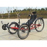 Adjustable 3 Wheels Sports Recumbent Trike