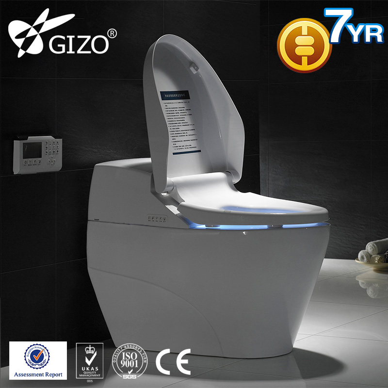 Ceramic raised toilet seat without arm LZ-0701Z with CE certificate