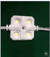 injection led 12v diode module CE&ROHS ,Hot selling, High quality 4 leds 5630 chip high power light for signboards