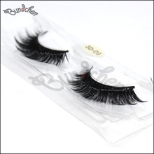 Magnetic paper high end lashes packaging box with 3D silk false eyelash