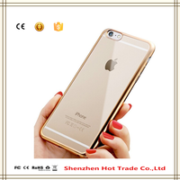2016 wholesale silicone phone case waterproof high quality TPU phone case for iPhone 6 plus