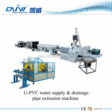 Plastic PVC Feed Pipe Manufacturing Machine / PVC Water Supply Pipe Production Making Machine Line