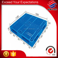 Double open deck cheap durable plastic pallet for beverages logistics