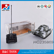 ABS/PP plastic Radio control 4CH TANK W/ LIGHT AND MUSIC, W/EN71/EN62115/7P HC235869