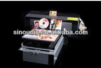 A3 size eco solvent flatbed printer