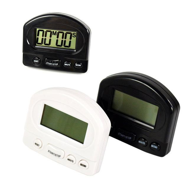 2017 Hot Sale Timer Kitchen Cooking 99 Minute Digital LCD Clock Sport Countdown Calculator