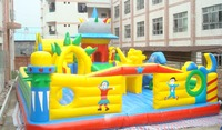bouncy castles with slide giant inflatable combos