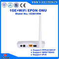 1GE GEPON WiFi ONU Support PPPoE/DHCP/Web/TR069 in Hot Sale
