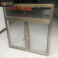 China made factory direct customized cheap aluminum frame glass casement window