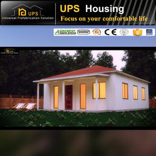 Green Modular family living portable prefab house for Africa
