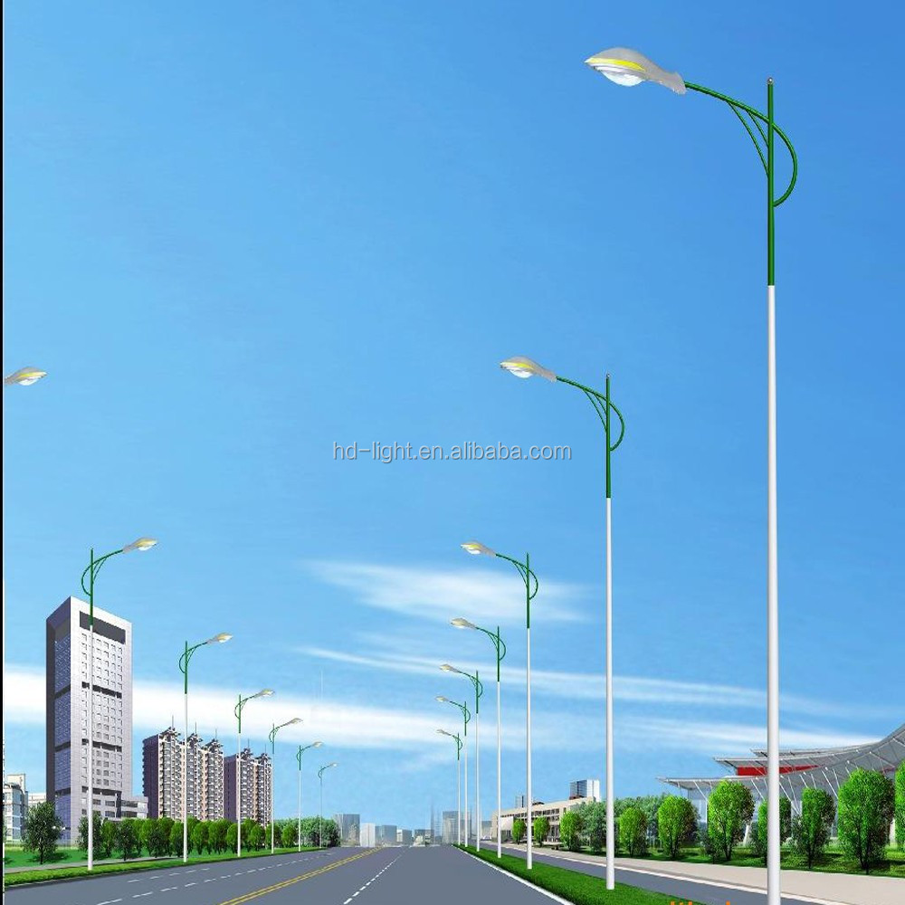10M CONICAL LIGHT POLE WITH ARM Hot Rolled Steel light column(Customization Available)