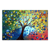 Hot Sell Handmade Art Tree Abstract Oil Painting For Decor Wall of Life