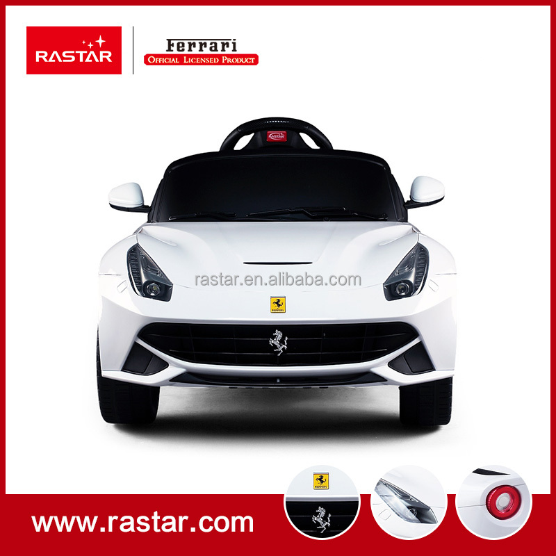 Rastar 2017 newest electric toy car with comfortable seat