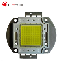 10W 20W 30W 50W 60W 80W 140-160lm/W High Brightness COB LED Chip with Epistar chipset gold line