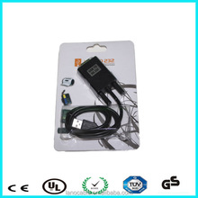 Newest micro usb serial rs232 ttl cable support win7/2000/SE/ME/98/XP/Linux systems