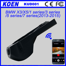 DVR Novatek 96655 Sony 322 WDR Night Vision 1080P Wifi Hidden Special Dashcam For BMW X3/X5