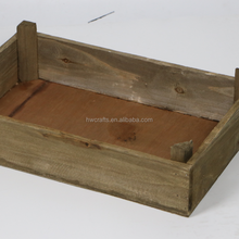 Antique Style Home Wood Eggs Tray Carton