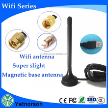 Low price magnetic wifi antenna SMA/TS9/USB external wifi antenna for dongle
