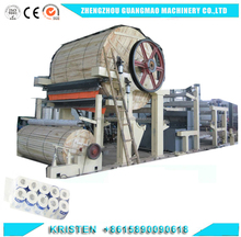 Automatic Used Tissue Paper Converting Paper Making Machine