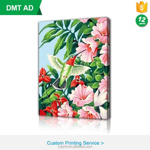 Digital printed wall decorative picture photo canvas print frame