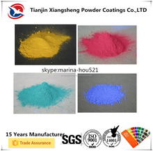 Colorful Electrostatic Non-toxic High Gloss Powder Coating