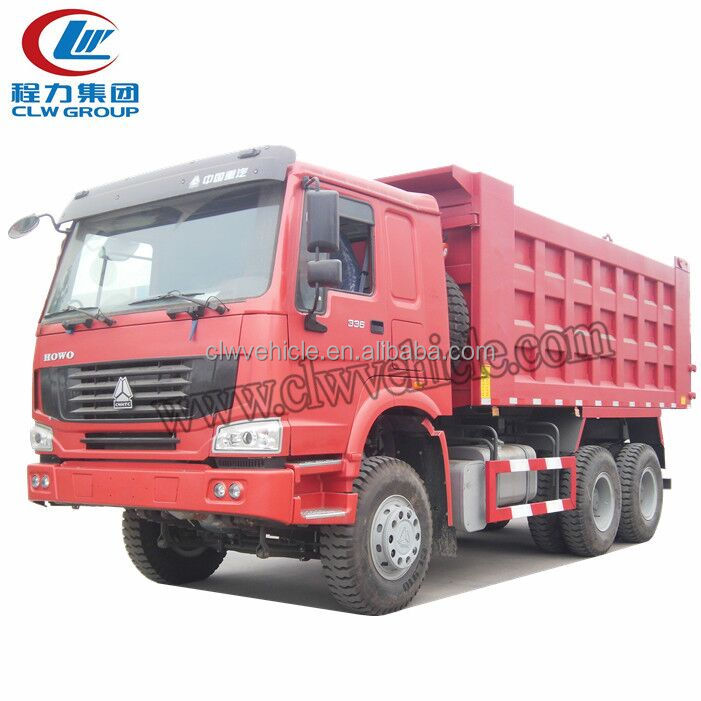 SINOTRUK HOWO A7 6x4 28-30 tons Sand Tipper trucks For Sale