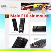 cheap 2.4GHz Mele F10 Pro Wireless Air Mouse With QWERT Keyboard