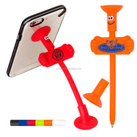 Hot Sale Bendy Pen/Phone Stand in goofy shape
