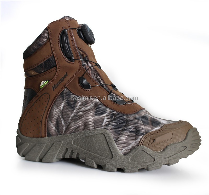 2016 New Mens BOA Closure Featured Camouflage Hunting Boots