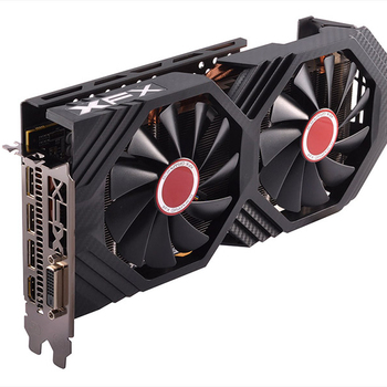 XFX Brand AMD Radeon RX580 8GB High end graphic card with Dual Cool Fan