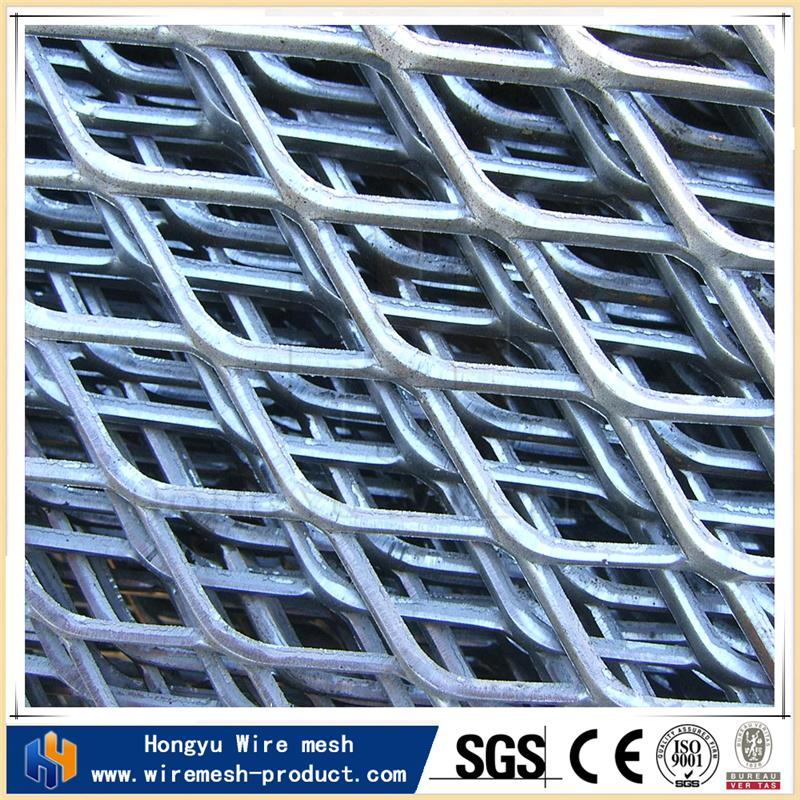 aluminium expanded mesh diamond mesh fabric expanded metal grill grates