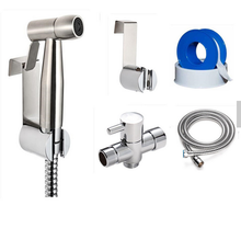 amazon high quality sanitary wares bathroom toilet handheld water shattaf combo kit hand cloth diaper bidet sprayer