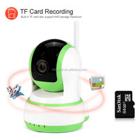 Indoor Surveillance Video/Audio Record 720P WIFI IP Camera Support 64GB SD Card