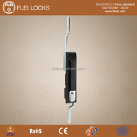 CE RoHS 2015 FEILEI manufacturer MS834 new safty waterproof metal plating electrical cabinet door key handle flush lock