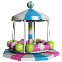 Sealy indoor amusement park equipment playground Carousel children game