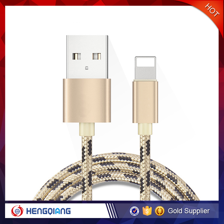 Decorative patter knit magnetic usb cable data cable for iphone