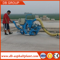 road movable shot blasting machine, surface cleaning equipment,bridge rust cleaning equipment