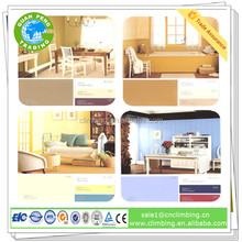 High efficient odorless antibacterial interior wall emulsion paint