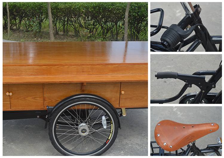 Factory Price Pedal Coffee Bike Trike Tricycle Manufacturer