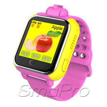 Factory price high quality Touch Screen kids 3g gps tracker smart camera watch phone