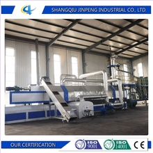 High quality low cost scrap tire pyrolysis plant with CE