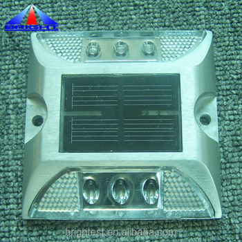 Solar Reflective LED Road Marker Stud