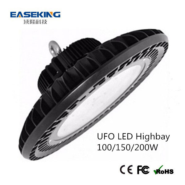 Hot sale high lumen ufo led high bay 150W industrial light with PC lens