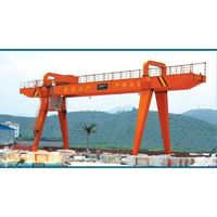 Light duty Overhead/Bridge used floating used gantry crane barge