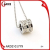 Top Sale necklace pendant crystal silver pendant designs for girls