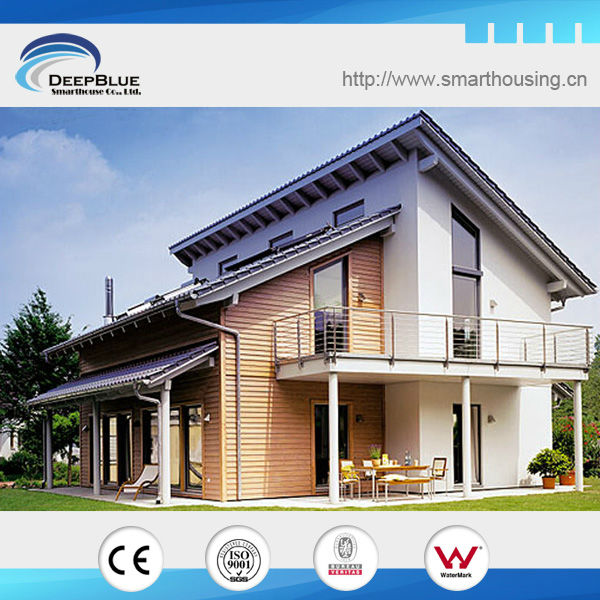 American standard steel prefabricated villa