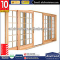AS2047 theft-proof aluminum composite wood sliding doors in high quality