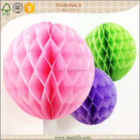 THANKSGIVING decoration home paper honeycomb ball