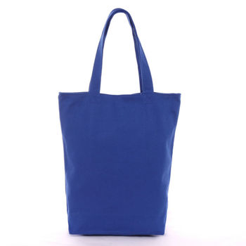 High Quality Blue cotton carry bag