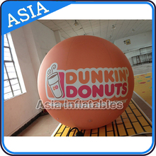 Promotional Inflatable LED Helium Balloon With Logo Printing